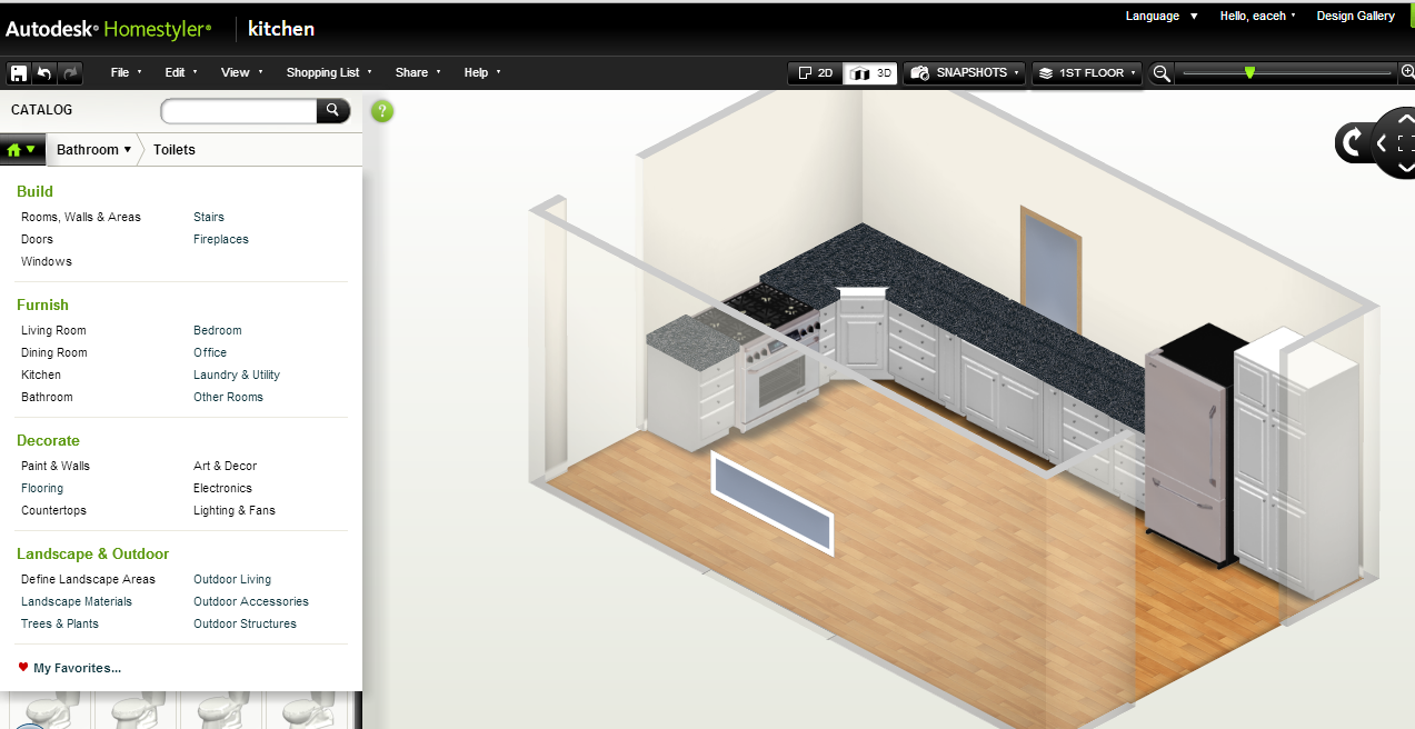 Diy Friday Create Your Own Home Design With Autodesk Homestyler It 39 S Genius Easy To Use Free